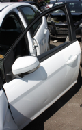 GENUINE FORD FOCUS MK3 FROZEN WHITE PASSENGER SIDE FRONT N/S/F DOOR 2008 - 2012